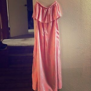 🎄O'Neill Milly Strapless Maxi dress
